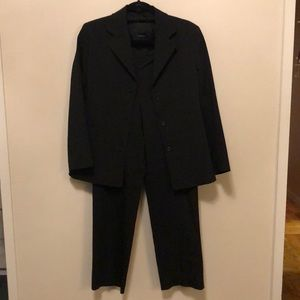 Prada suit lined jacket and no waist pant